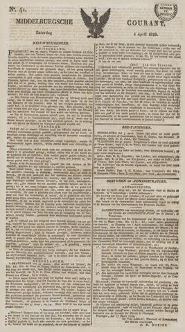 Middelburgsche Courant 1829-04-04