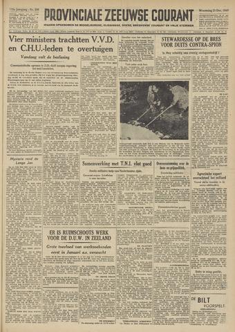 Provinciale Zeeuwse Courant 1949-12-21