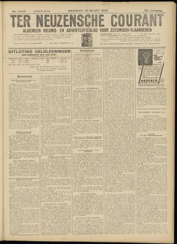 Ter Neuzensche Courant. Algemeen Nieuws- en Advertentieblad voor Zeeuwsch-Vlaanderen / Neuzensche Courant ... (idem) / (Algemeen) nieuws en advertentieblad voor Zeeuwsch-Vlaanderen 1936-03-30