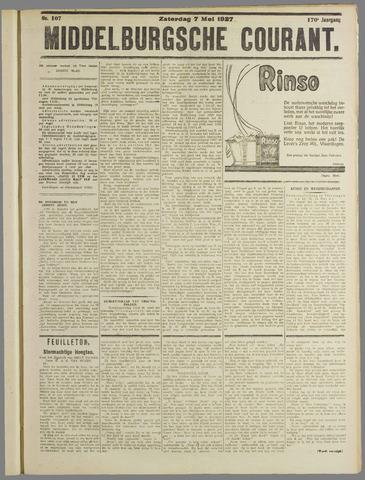 Middelburgsche Courant 1927-05-07