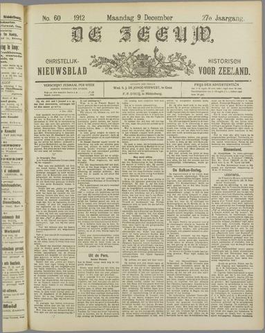 De Zeeuw. Christelijk-historisch nieuwsblad voor Zeeland 1912-12-09