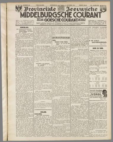 Middelburgsche Courant 1934-10-11