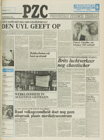 Provinciale Zeeuwse Courant 1977-08-26