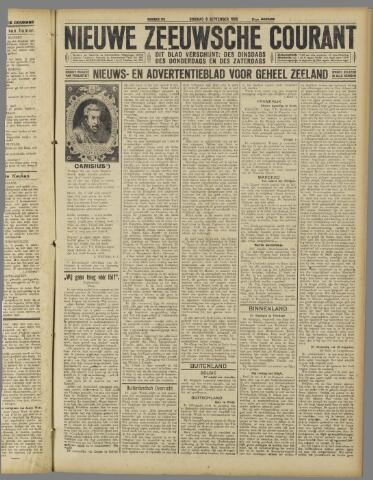 Nieuwe Zeeuwsche Courant 1925-09-08