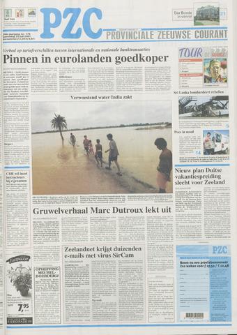 Provinciale Zeeuwse Courant 2001-07-25