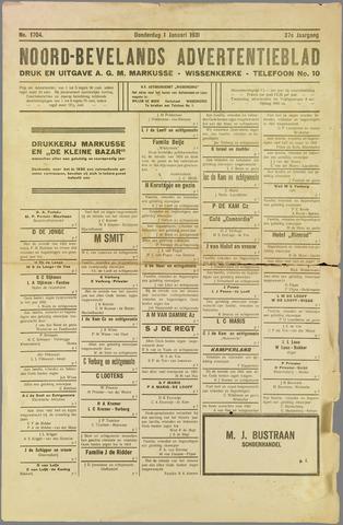 Noord-Bevelands Nieuws- en advertentieblad 1931