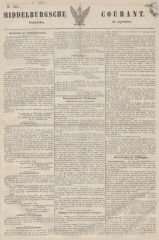 Middelburgsche Courant 1850-09-26