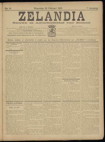Zelandia. Nieuws-en advertentieblad voor Zeeland | edities: Het Land van Hulst en De Vier Ambachten 1902-02-26