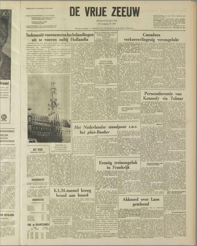 de Vrije Zeeuw 1962-07-24