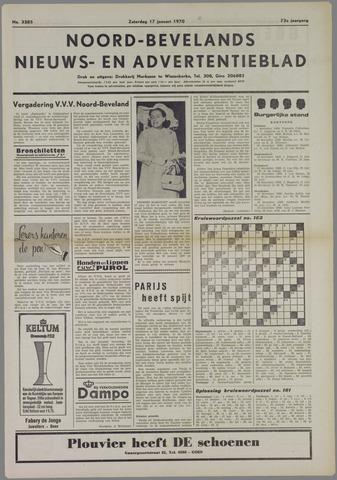 Noord-Bevelands Nieuws- en advertentieblad 1970-01-17
