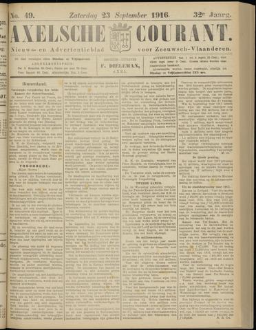 Axelsche Courant 1916-09-23