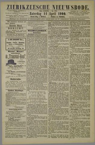 Zierikzeesche Nieuwsbode 1900-04-14