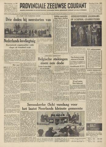 Provinciale Zeeuwse Courant 1960-12-31