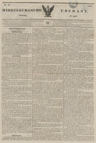 Middelburgsche Courant 1844-04-27