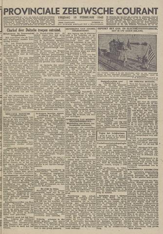 Provinciale Zeeuwse Courant 1943-02-19