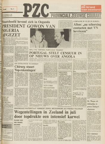 Provinciale Zeeuwse Courant 1975-07-30