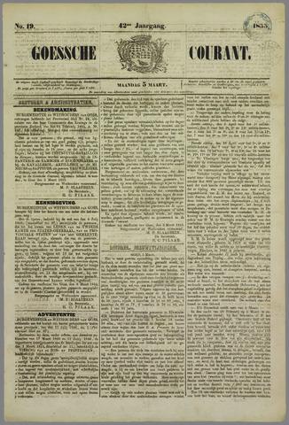 Goessche Courant 1855-03-05