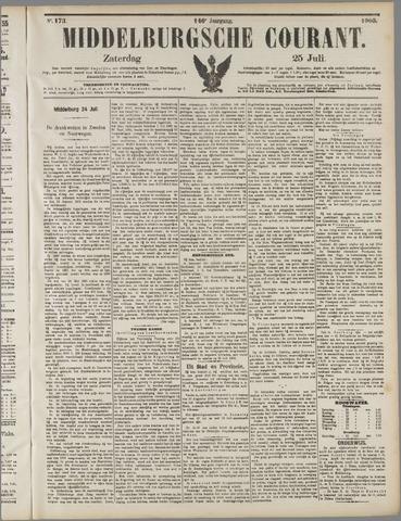 Middelburgsche Courant 1903-07-25