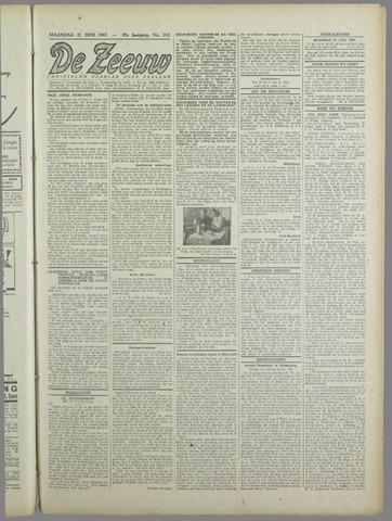 De Zeeuw. Christelijk-historisch nieuwsblad voor Zeeland 1943-06-21
