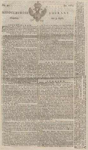 Middelburgsche Courant 1764-04-03