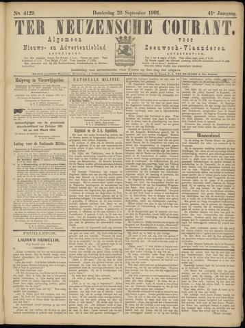 Ter Neuzensche Courant. Algemeen Nieuws- en Advertentieblad voor Zeeuwsch-Vlaanderen / Neuzensche Courant ... (idem) / (Algemeen) nieuws en advertentieblad voor Zeeuwsch-Vlaanderen 1901-09-26