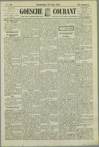 Goessche Courant 1924-06-19