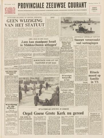 Provinciale Zeeuwse Courant 1970-02-18