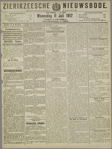 Zierikzeesche Nieuwsbode 1917-07-11