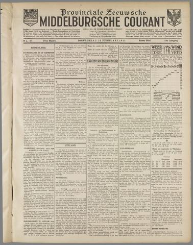 Middelburgsche Courant 1932-02-25