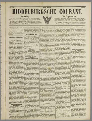 Middelburgsche Courant 1906-09-15