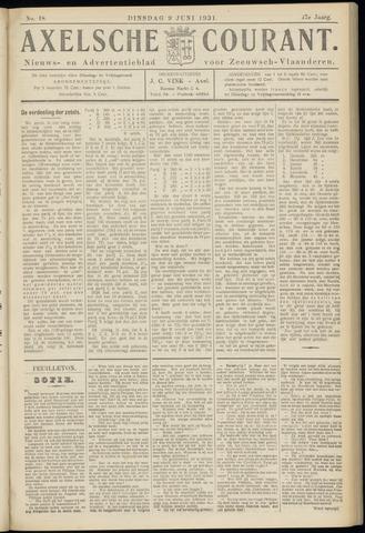 Axelsche Courant 1931-06-09