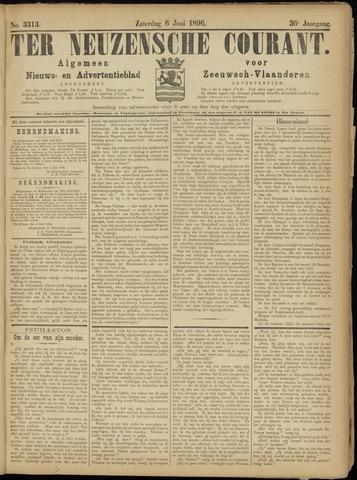 Ter Neuzensche Courant. Algemeen Nieuws- en Advertentieblad voor Zeeuwsch-Vlaanderen / Neuzensche Courant ... (idem) / (Algemeen) nieuws en advertentieblad voor Zeeuwsch-Vlaanderen 1896-06-06