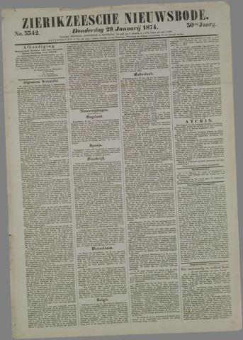 Zierikzeesche Nieuwsbode 1874-01-29