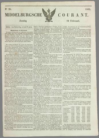 Middelburgsche Courant 1865-02-12