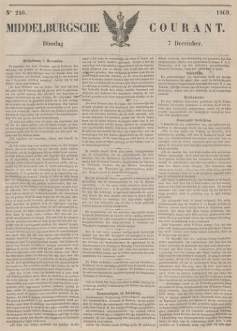 Middelburgsche Courant 1869-12-07