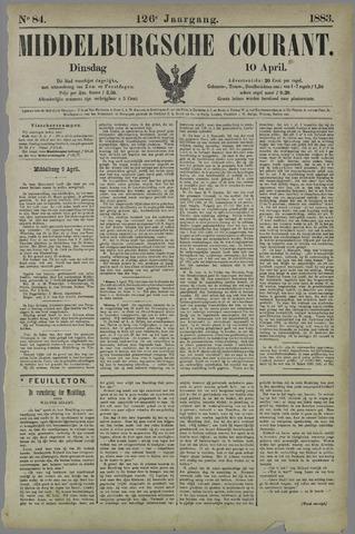 Middelburgsche Courant 1883-04-10