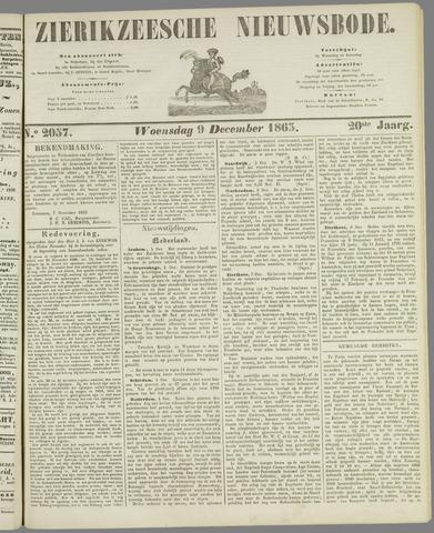 Zierikzeesche Nieuwsbode 1863-12-09