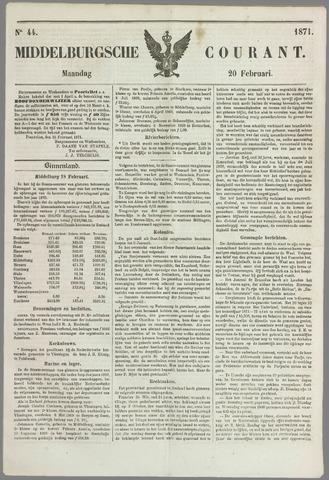 Middelburgsche Courant 1871-02-20