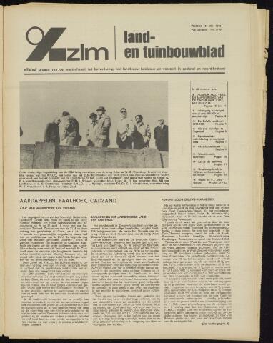 Zeeuwsch landbouwblad ... ZLM land- en tuinbouwblad 1972-05-05