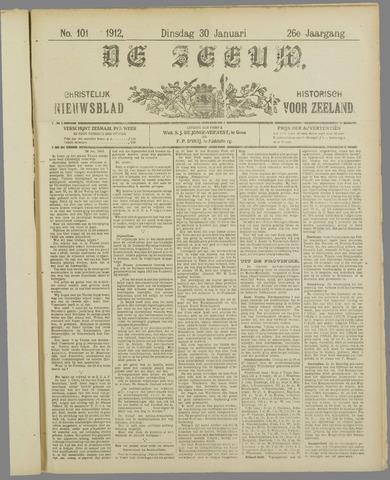 De Zeeuw. Christelijk-historisch nieuwsblad voor Zeeland 1912-01-30