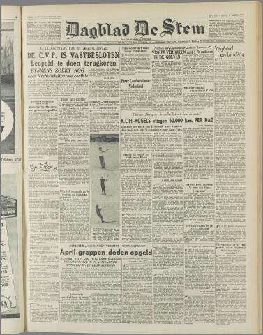 de Stem 1950-04-05