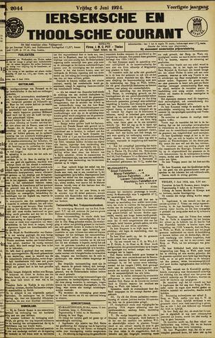 Ierseksche en Thoolsche Courant 1924-06-06