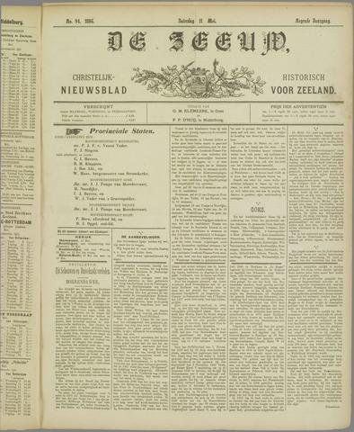 De Zeeuw. Christelijk-historisch nieuwsblad voor Zeeland 1895-05-11