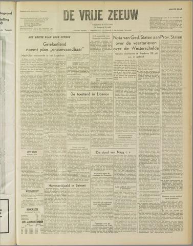 de Vrije Zeeuw 1958-06-20