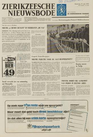 Zierikzeesche Nieuwsbode 1973-06-21