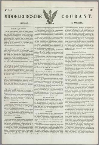 Middelburgsche Courant 1871-10-10