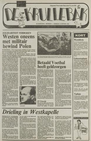 Provinciale Zeeuwse Courant katern Krullenbak (1981-1999) 1982