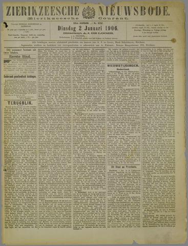 Zierikzeesche Nieuwsbode 1906-01-02