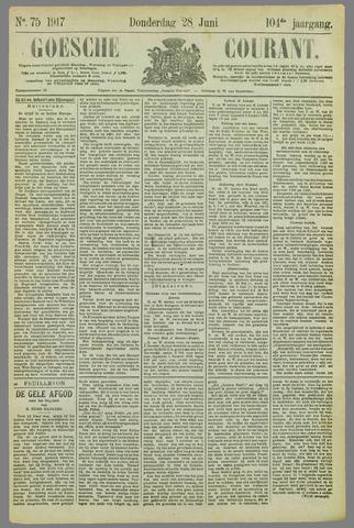 Goessche Courant 1917-06-28