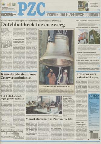 Provinciale Zeeuwse Courant 1999-11-16